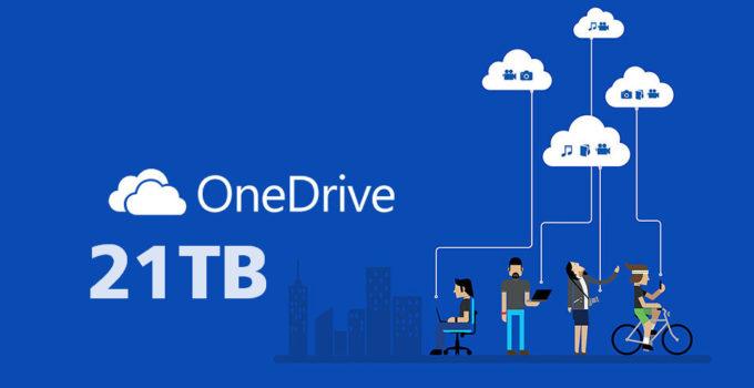 tài khoản One Drive 5TB