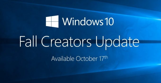 Windows Fall Creators Update