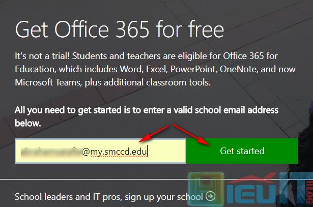 đăng ký tài khoản office 365 miễn phí trọn đời