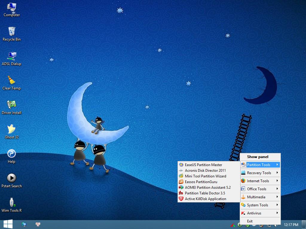 Windows 8PE 64bit