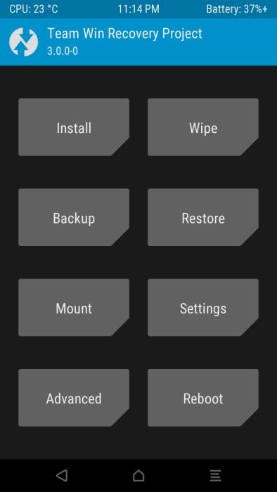 TWRP 3 0 0 Custom Recovery - Cách cài TWRP Recovery lên điện thoại Android