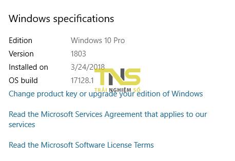 about your pc 2 - Cách kiểm tra phiên bản Windows 10