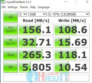 test thông số emmc laptop masstel l133