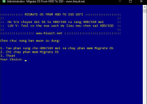 Migrate OS